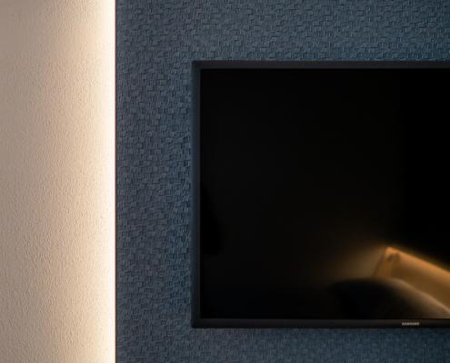 TV-Flatscreen - Pulverhütte - Gästehaus im egapark Erfurt
