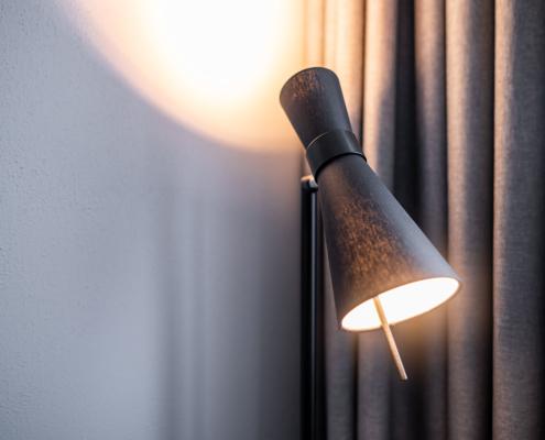 Modernes Leuchtenkonzept - Pulverhütte - Gästehaus im egapark Erfurt
