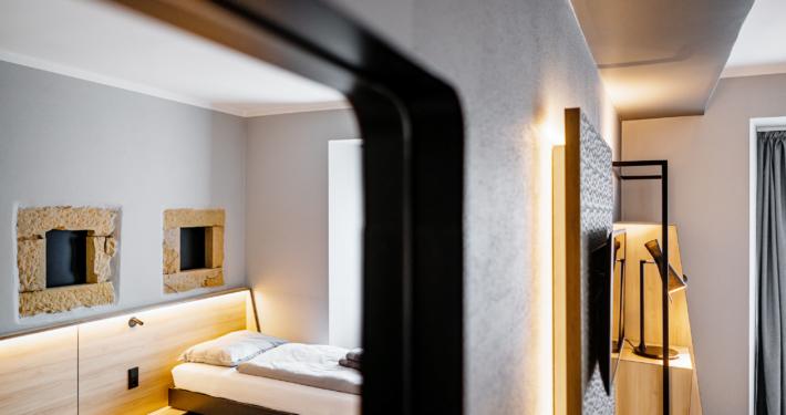 Barriefreies Doppelzimmer - Pulverhütte - Gästehaus im egapark Erfurt