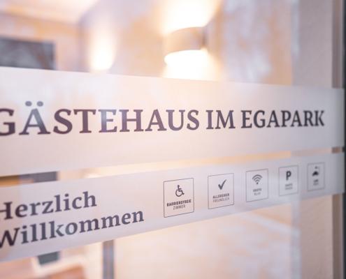 Herzlich Willkommen - Pulverhütte - Gästehaus im egapark Erfurt