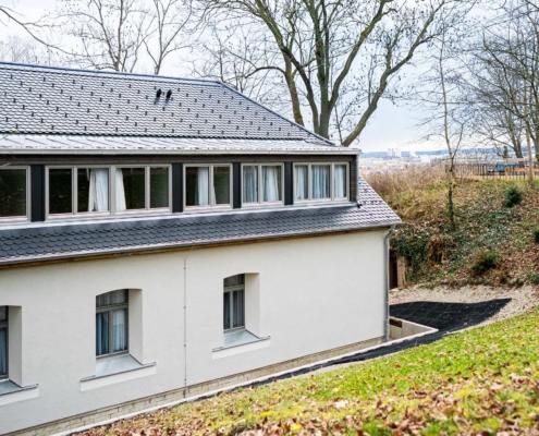 Blick über Erfurt - Pulverhütte - Gästehaus im egapark Erfurt